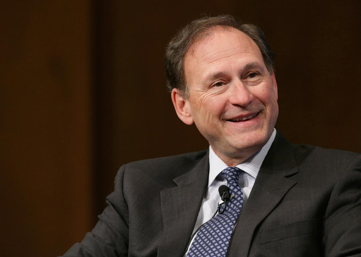 Justice Alito declares carbon dioxide is not a pollutant.