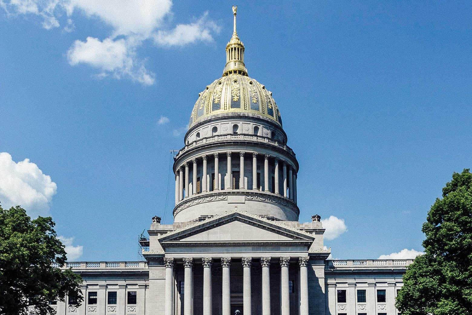 The West Virginia Capitol in Charleston