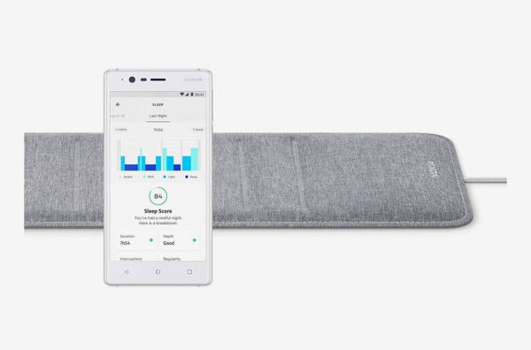 Withings/Nokia Sleep Tracking Pad.