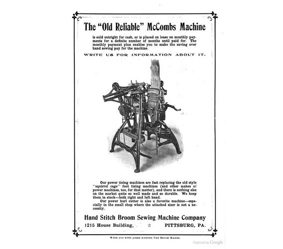 Broom Machine