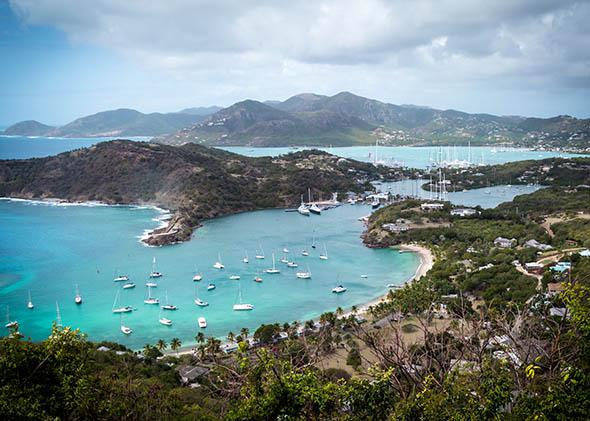 Shirley's Heights, Antigua and Barbuda, 2014.