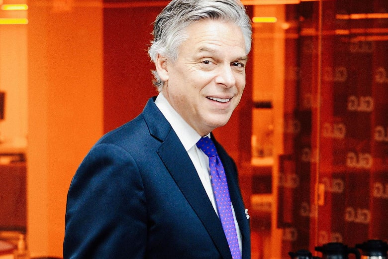 A 2014 image of Jon Huntsman.