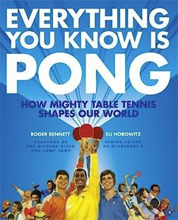 "Book cover to ""Everything You Know Is Pong."""
