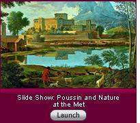 Click here to launch a slide show about Poussin's landscapes.