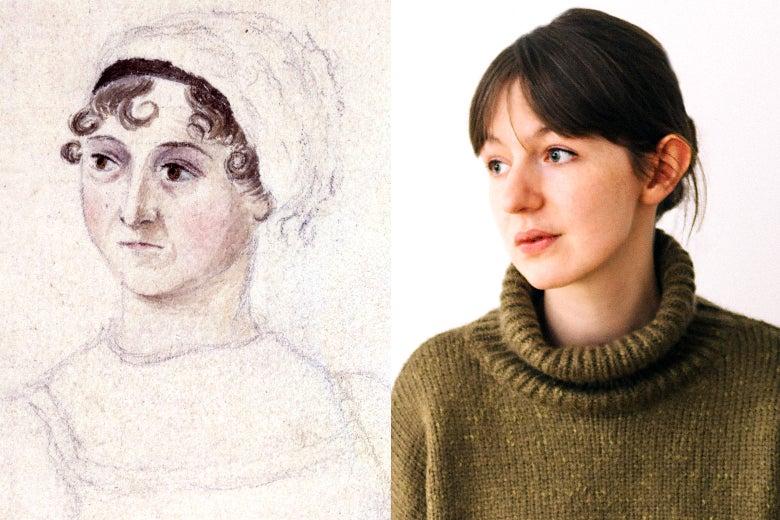 Jane Austen and Sally Rooney.