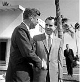 John F. Kennedy and Richard Nixon
