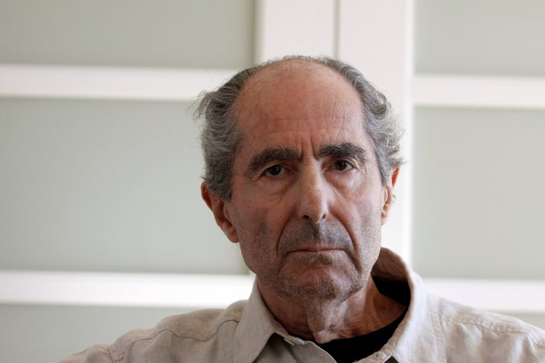 Novelist Philip Roth.