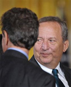 Larry Summers. Click image to expand.