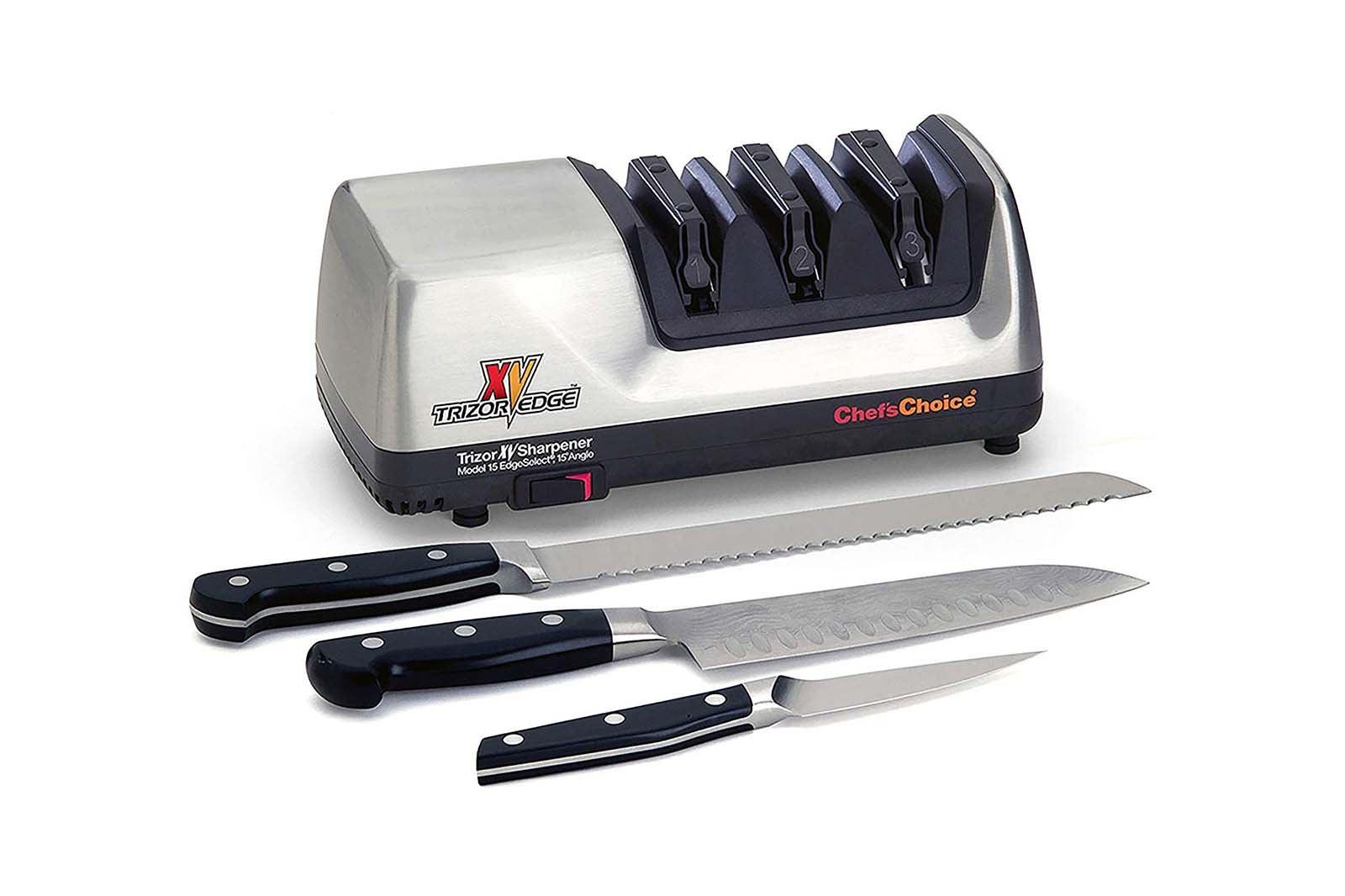 Chef'sChoice Trizor XV Sharpener.
