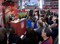 Super Bowl Media Day. Click image to expand.