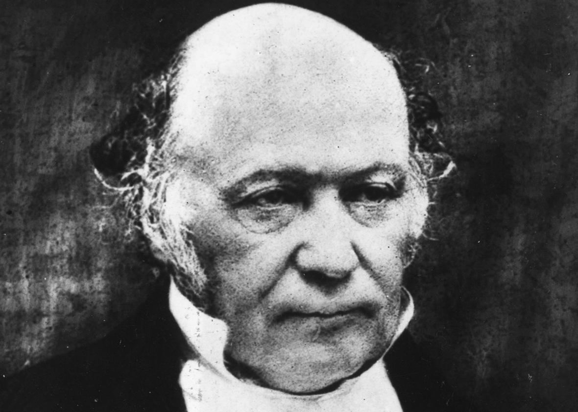 Sir William Rowan Hamilton (1805 - 1865), Irish mathematician and inventor of quarternions, an algebraic approach to three-dimensional geometry.