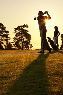 How did golf become such a big part of business culture?