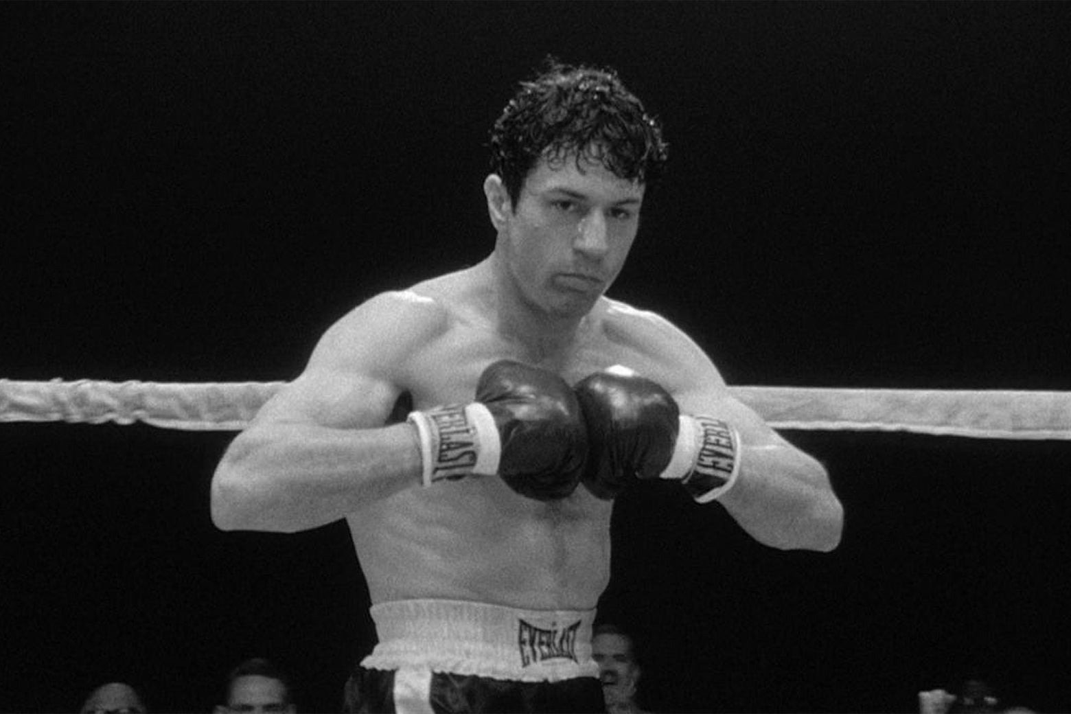Robert De Niro in Raging Bull.