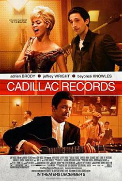 """""""Cadillac Records"""" movie poster."""