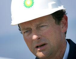 Tony Hayward: the face of the BP oil spill.