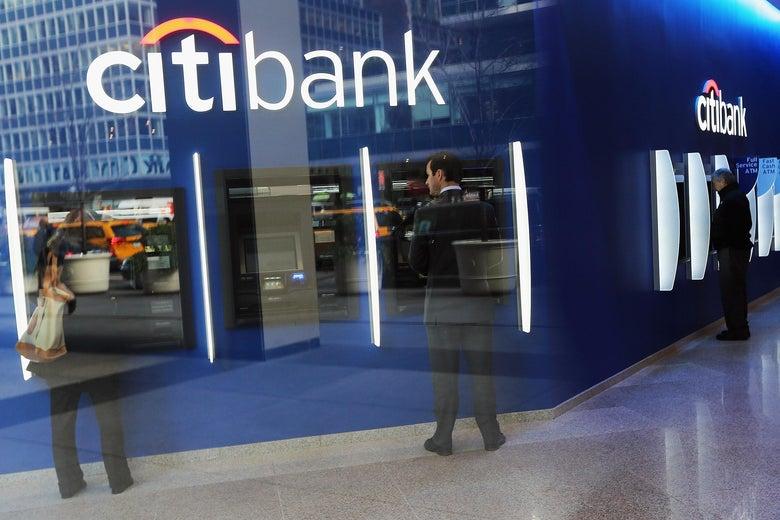 Citibank ATMs.