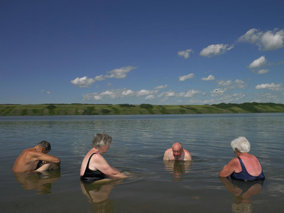 Lake Manitou, Canada's Only Salt Lake/Watrous, Saskatchewan/July 2011