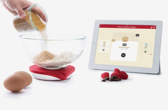 Drop Scale Smart Kitchen Scale and Recipe App.