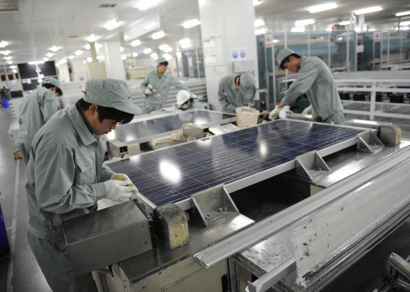 The United States has imposed new tariffs on Chinese solar panel importers such as Suntech.