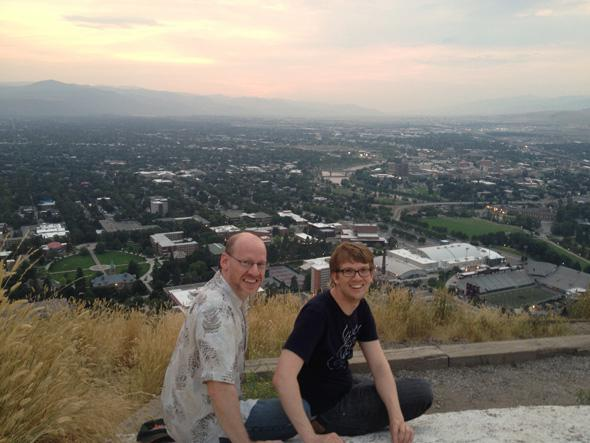 Hank Green and Phil Plait