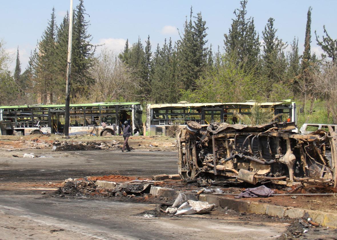 Car bombing attack in Rashidin