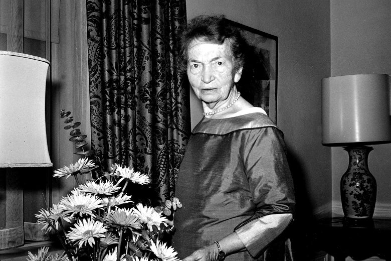 Margaret Sanger in New York City on May 10, 1961.