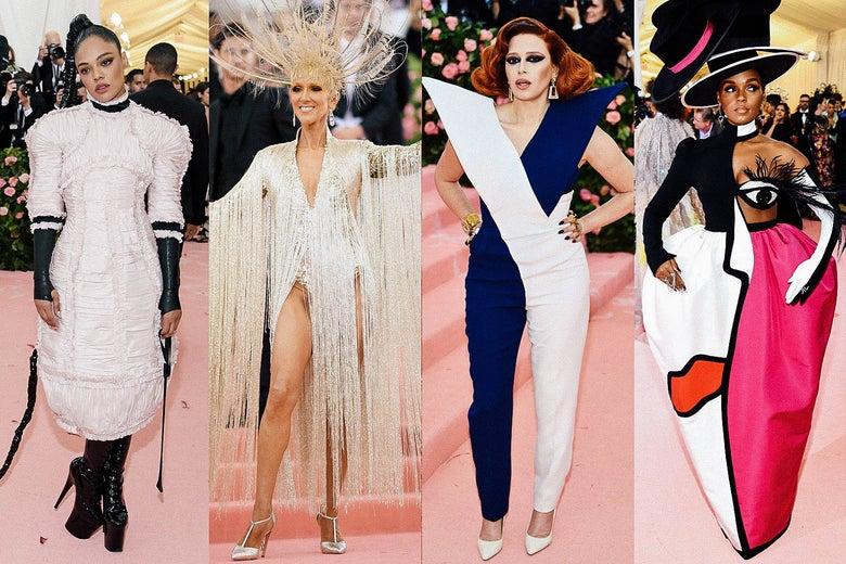 Tessa Thompson, Celine Dion, Natasha Lyonne, and Janelle Monáe.
