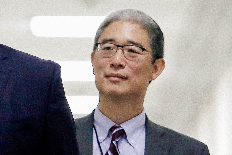 On Tuesday, Bruce Ohr, former U.S. associate deputy attorney general, arrives for a closed hearing with the House Judiciary and House Oversight and Government Reform committees on Capitol Hill.