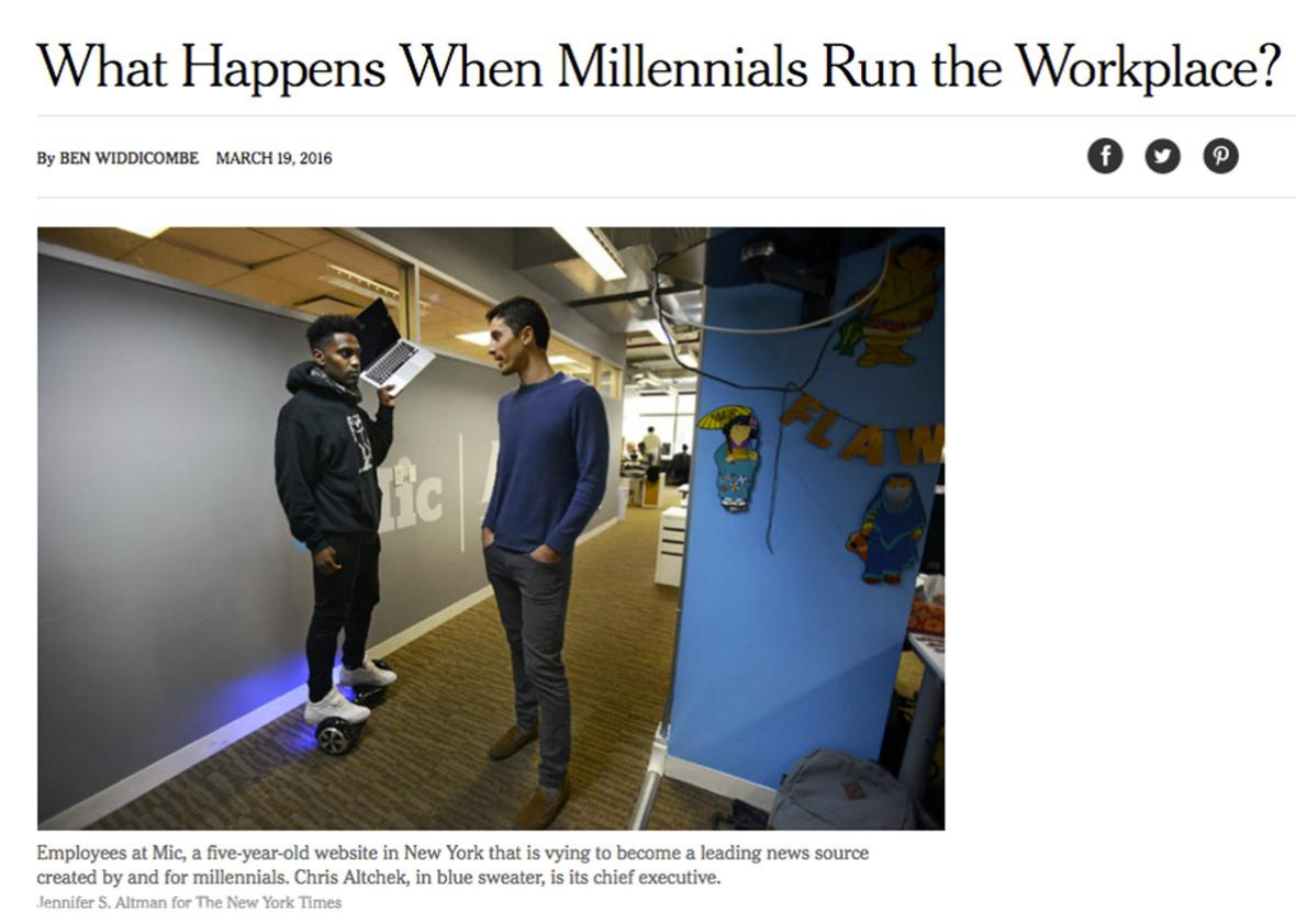 At Last New York Times Gets Serious >> In Defense Of The New York Times Trend Piece