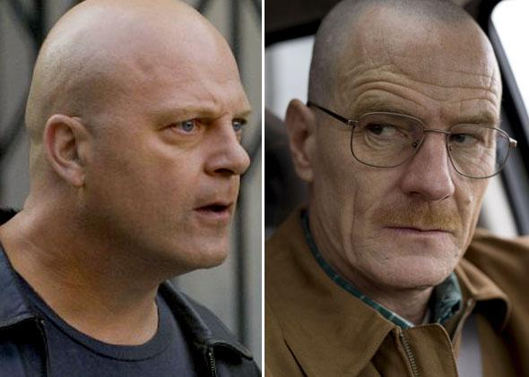 Michael Chiklis on The Shield and Bryan Cranston on Breaking Bad.