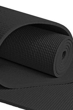 YogaAccessories Extra-Long 1/4-Inch Deluxe Yoga Mat