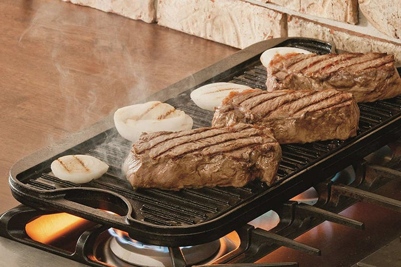 Lodge LPGI3 Cast Iron Reversible Grill/Griddle.