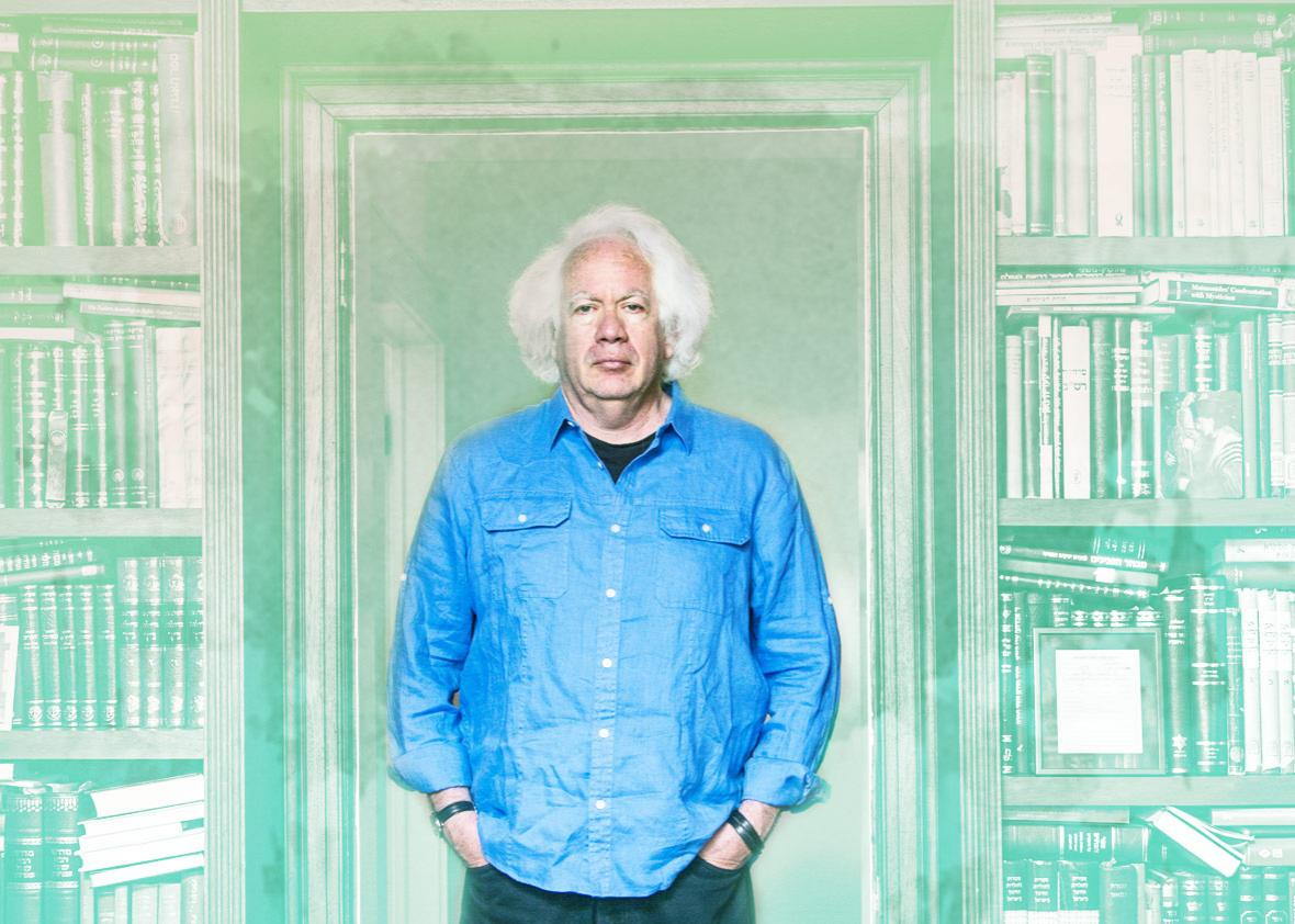 American author and literary critic Leon Wieseltier at his home in Washington, DC.