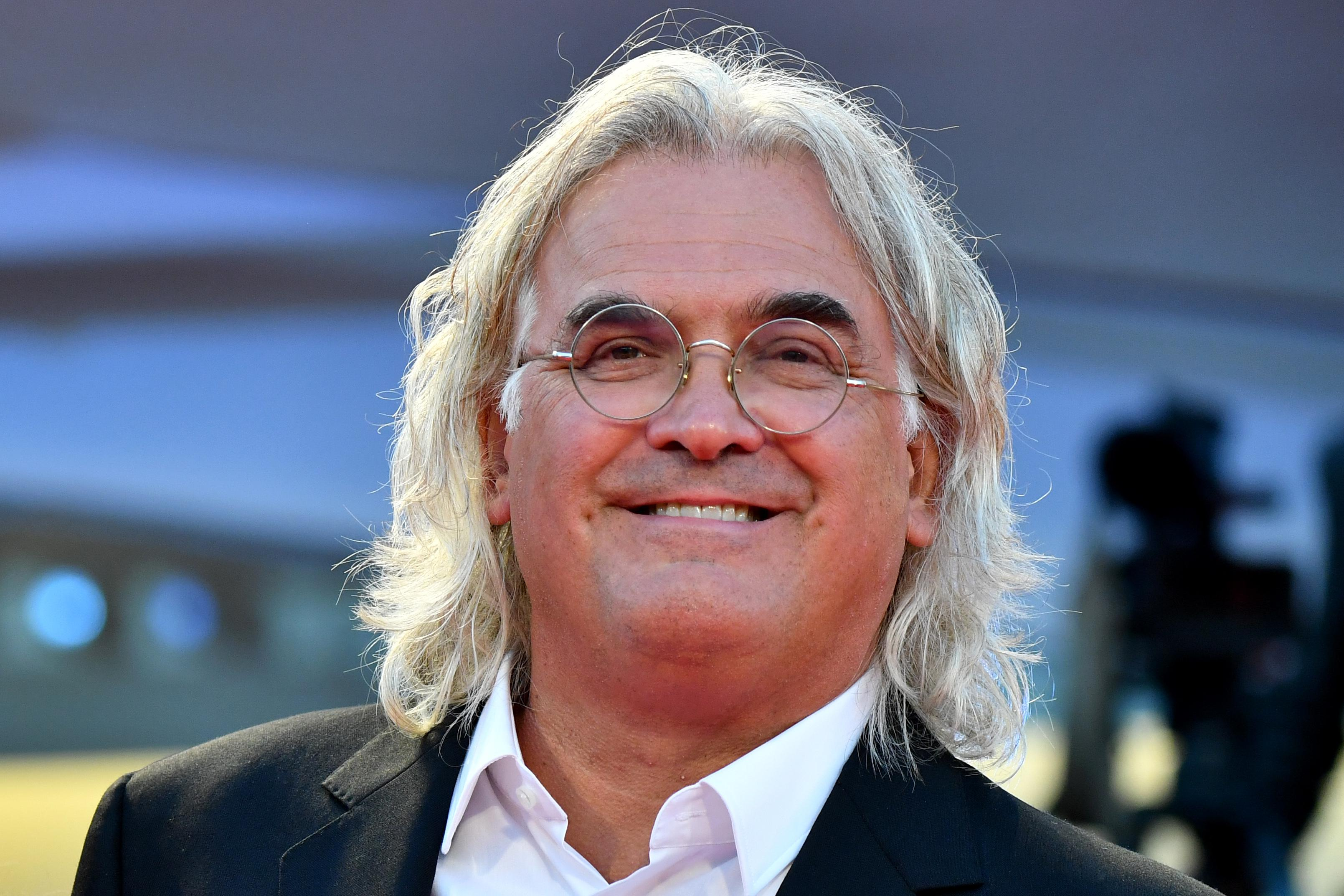 Director Paul Greengrass at the Venice Film Festival on Sept. 5.