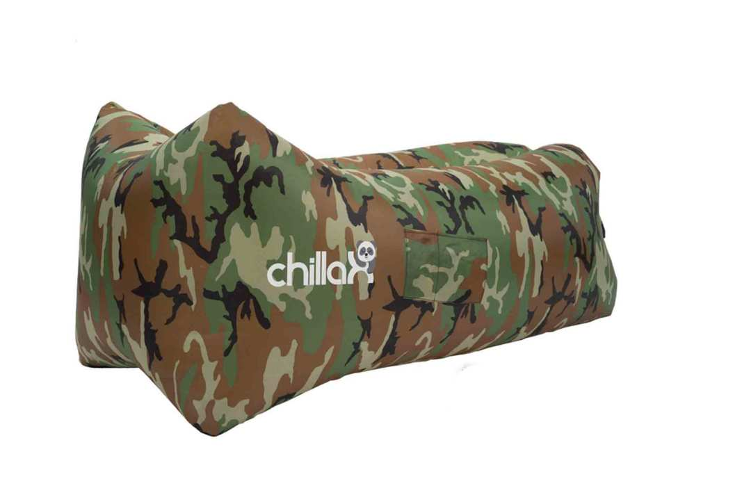 ChillaX Inflatable Lounger with Carry Bag.