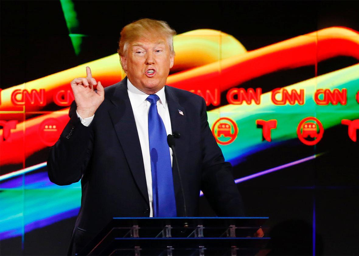 Donald Trump CNN GOP Debate