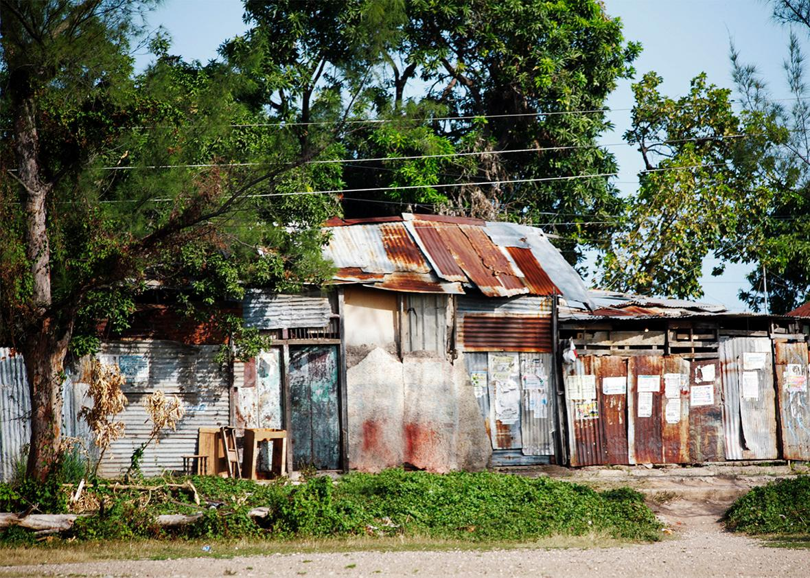 Street in Kingston, Jamaica.