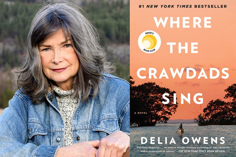 Delia Owens' author photo for Where the Crawdads Sing.