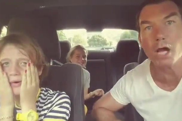 This Video of Jerry O'Connell Tormenting His Kids by Singing Along to Prince Has Off-the-Charts Dad Energy