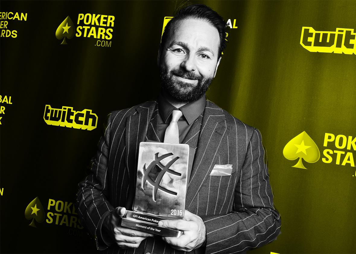 Daniel Negreanu, Moment of the year award, attends the American Poker Awards during the Global Poker League Draft Day on February 25, 2016 in Beverly Hills, California.