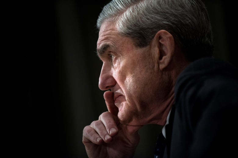A 2013 photo of then–FBI Director Robert Mueller