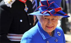 Britain's Queen Elizabeth II. Click image to expand.
