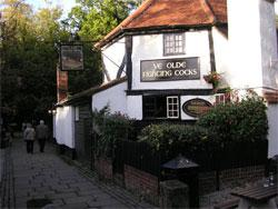 What was pub food like in the 18th century?