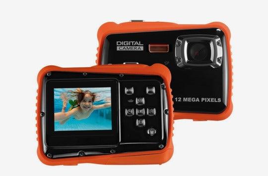 Linnnzi Waterproof Digital Camera for Kids.