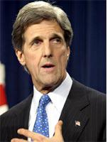 Kerry, not always a military man