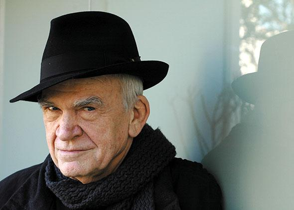 Author Milan Kundera Photo by Catherine Hélie.