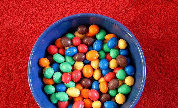 Some M&M's for your thoughts?