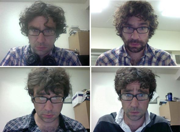 Justin Peters self-portrait.