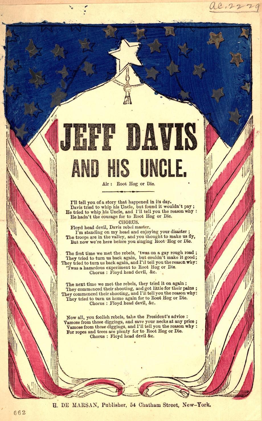 Jeff Davis ballad