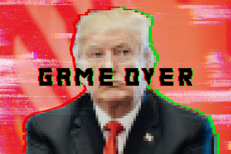 Trump and video games.